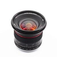 12 мм f/2,8 Широкий формат ручной MFT объектив для Nikon Panasonic Olympus M43 микро 4/3 E-P5 E-M5 E-M10 Mark II III GX9 GX85 G90 G9 12 мм F2.8