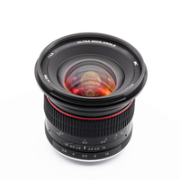 12mm f/2.8 Wide Angle Manual MFT Lens for Panasonic Olympus M43 Micro 4/3 E P5 E M5 E M10 Mark II III GX9 GX85 G90 G9 12 mm F2.8