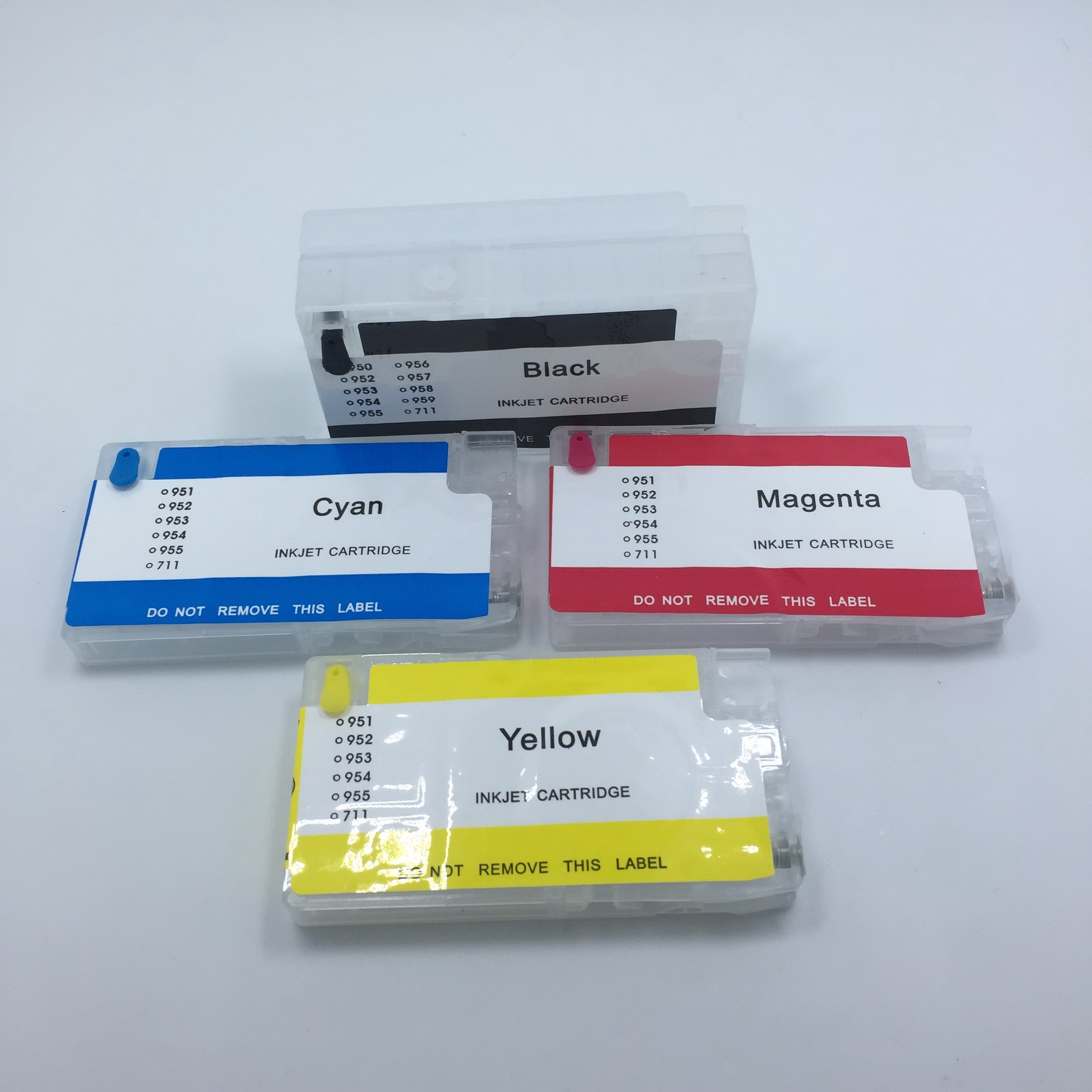 YOTAT (NO chip) <font><b>952XL</b></font> Refillable Ink Cartridge for HP952 HP953 HP954 HP955 for HP Officejet Pro 8730 8740 8735 8715 8720 Printer image