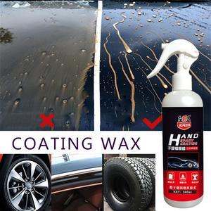 Image 1 - Revestimiento en Spray de cerámica líquida para coche, sellador en espray, capa superior, Nano recubrimiento rápido, 260ML, cera de pulverización, limpieza de coche