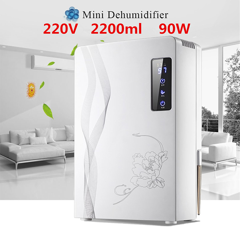 2200ML Moisture Absorbing Air Dryer with Auto-off Mini Air Dehumidifier for Home Portable LED indicator Air Dehumidifier Home2200ML Moisture Absorbing Air Dryer with Auto-off Mini Air Dehumidifier for Home Portable LED indicator Air Dehumidifier Home