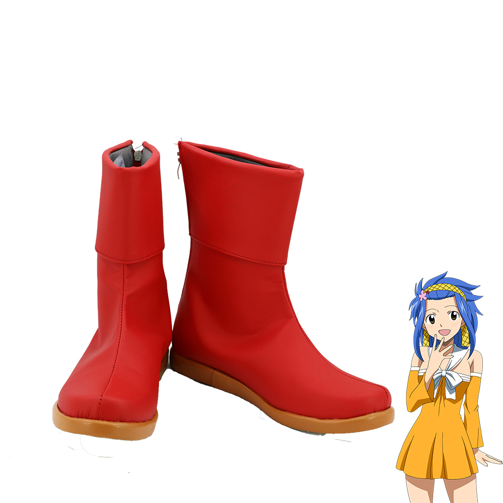 Telacos Fairy Tail Gildarts Clive Cosplay Shoes Boots Custom Made