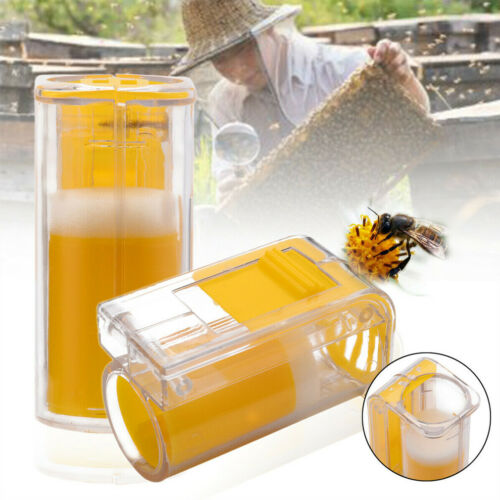 1x One Handed Queen Bee Catcher Clip Beekeeper Tool Beekeeping Equipment Kits