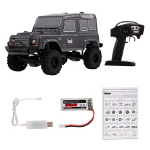 Rowsfire 1 Pcs RGT 1:24 2.4G 4WD 15km/H Simulation RC Off-Road Crawler Vehicle Climbing Car RTR Version - Grey/Silver