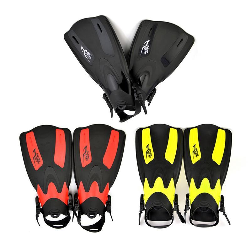 Garder la plongée FN-601 palmes de plongée nager adulte formation professionnelle palmes courtes réglables