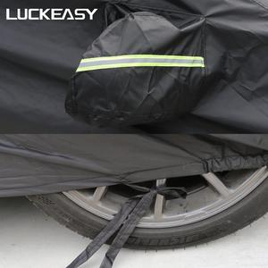 Image 5 - LUCKEASY car cover for Tesla Model 3 2018 2019  Oxford Cloth Waterproof All Weather Sun Uv Rain Protection
