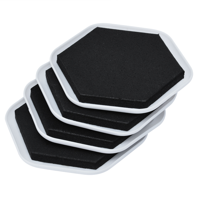 4pcs Heavy Duty Furniture Moving Pad Home Moving Helper Floor