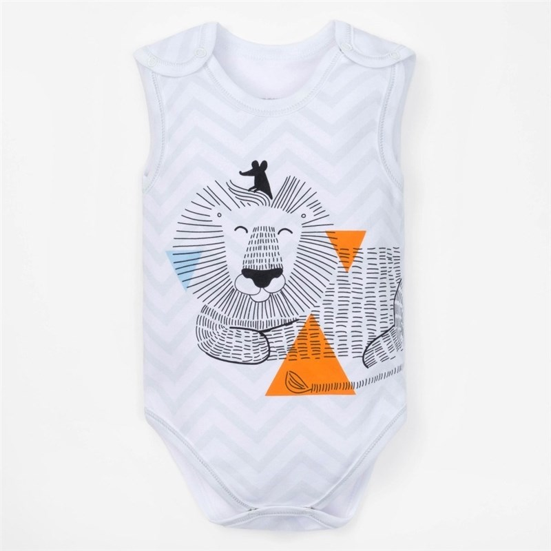 Bodysuit baby sleeveless Crumb I Safari growth 3 9 Mo allenjoy background for photo studio baby shower monthly growth backdrop photobooth photocall printed photographic accessories