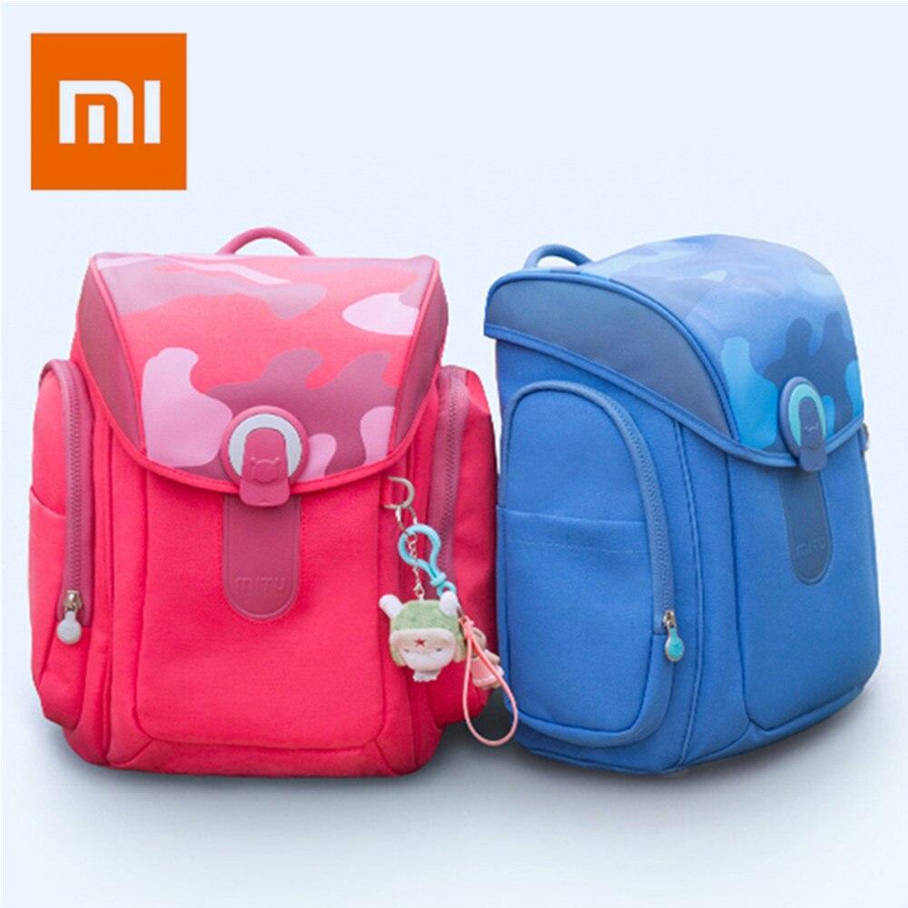 Оригинальный Xiaomi Mitu студентов Детская сумка для подростков обувь девочек мальчиков 13L большой ёмкость декомпрессии