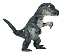 Hot Adult Halloween Inflatable Raptor Costume Dinosaur Cosplay T REX Anime Fancy Dress Halloween Costume for Women Men New