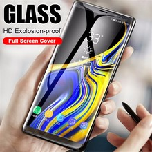 HD Full Cover Curved Tempered Glass For Samsung Galaxy J3 J5 J7 2017 Prime 2018 Screen Protector J4 J6 J8 Plus Film