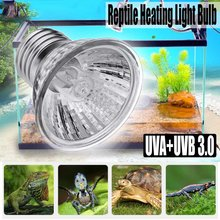 25/50/75W UVA+UVB Reptile Lamp Bulb Turtle Basking UV Light Bulbs Heating Lamp Amphibians Lizards Temperature Controller(China)
