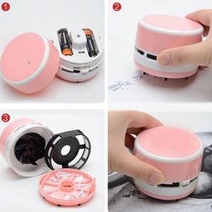 Image 4 - Mini aspirateur, aspiration de poussière et nettoyage de Table et de bureau