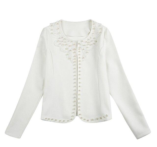 Fashion  3XL 4XL Black Women Jacket 2021 O Collar Coat Women Short Jacket Long Sleeve Womens Jackets And Coats A956 5