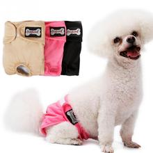 Pet Dog Shorts Dog Diaper Sanitary Physiological Pants Washable Dog Shorts Panties Menstruation Underwear Briefs Pet Supplies