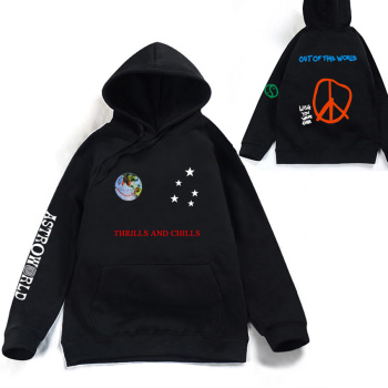 BTS Astroworld THRILLS AND CHILLS Hoodies Sweatshirts Men/Women Spring Streetwear Pullover Travis Scotts Fashion Hip Hop Clothes