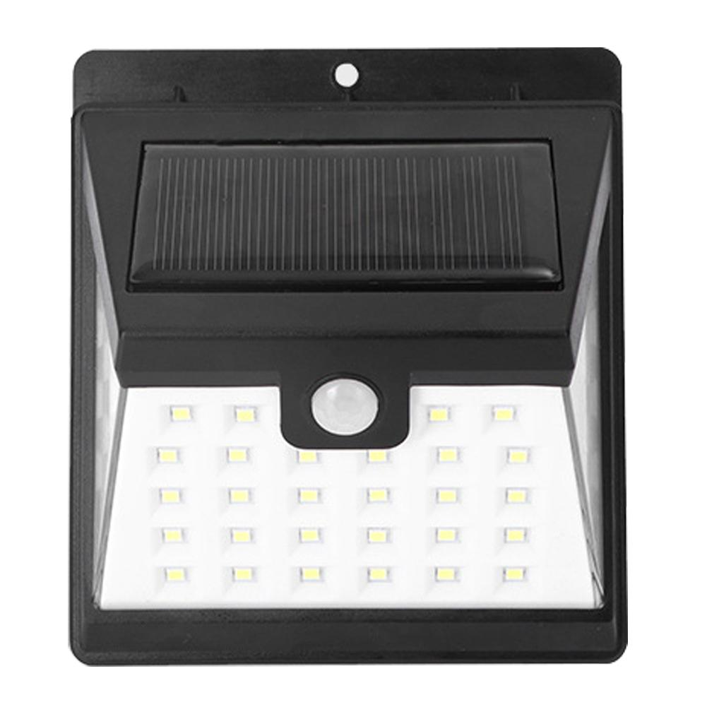 Led Outdoor Wall Lamps Enthusiastic 40leds Solar Light 20w Motion Sensor Led Wall Lamp Super Bright Outdoor Garden Security Light Ip65 Waterproof Led Street Light Clear-Cut Texture