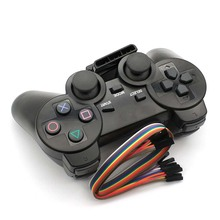 2.4G kablosuz oyun gamepad joystick PS2 denetleyici Sony playstation 2 konsolu dualshock oyun joypad PS 2 oyun istasyonu
