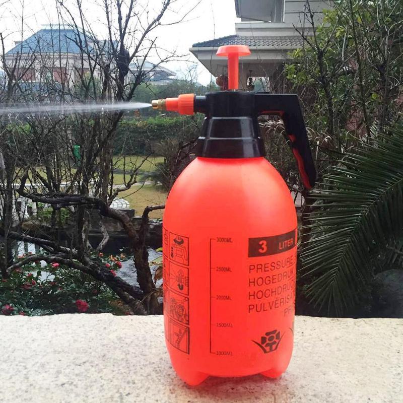 2L Portable Chemical Sprayer Pump Pressure Garden Water Spray Bottle Watering
