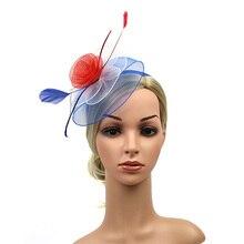 1 pc Vintage sombreros Clips de pelo pequeño sombrero horquillas para  fiesta de baile de fiesta de boda f68dcba0931