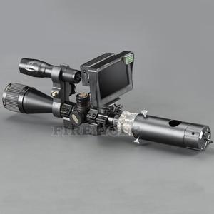 Image 3 - Portée de chasse Vision nocturne 656 ft infrarouge double usage portée de fusil ajouter sur bricolage écran vert et torche IR