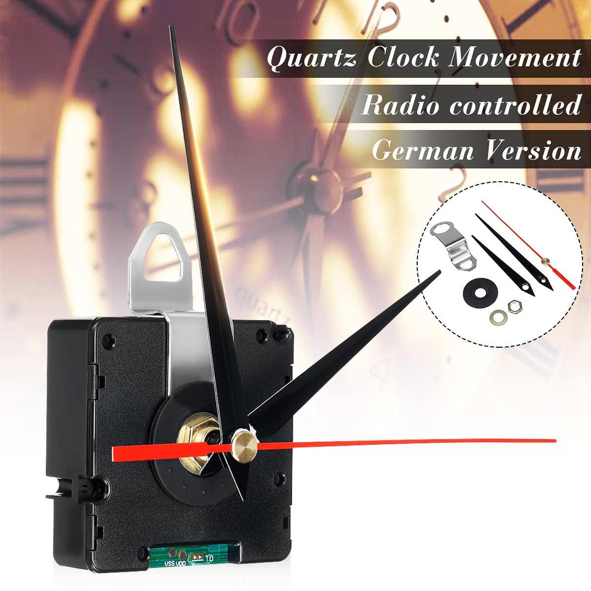 Atomic Radio Controlled Silent Clock Movement DIY Kit Germany DCF Signal HR9312 ModeAtomic Radio Controlled Silent Clock Movement DIY Kit Germany DCF Signal HR9312 Mode