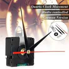 Атомный Радиоуправляемый бесшумный часовой механизм DIY Kit Германия DCF сигнал HR9312 режим