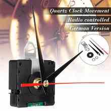 Reloj silencioso atómico controlado por Radio, Kit DIY de señal DCF de Alemania, modo HR9312