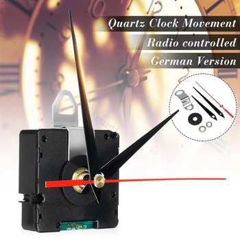 Movimiento de reloj silencioso controlado por Radio atómica DIY Kit Alemania DCF modo de señal HR9312