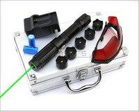 CNILasers X6BG0200 Adjustable Focus 520nm Green Laser Pointer Visible Laser Pen High Power Lazer Torch Camping Signal Lamp