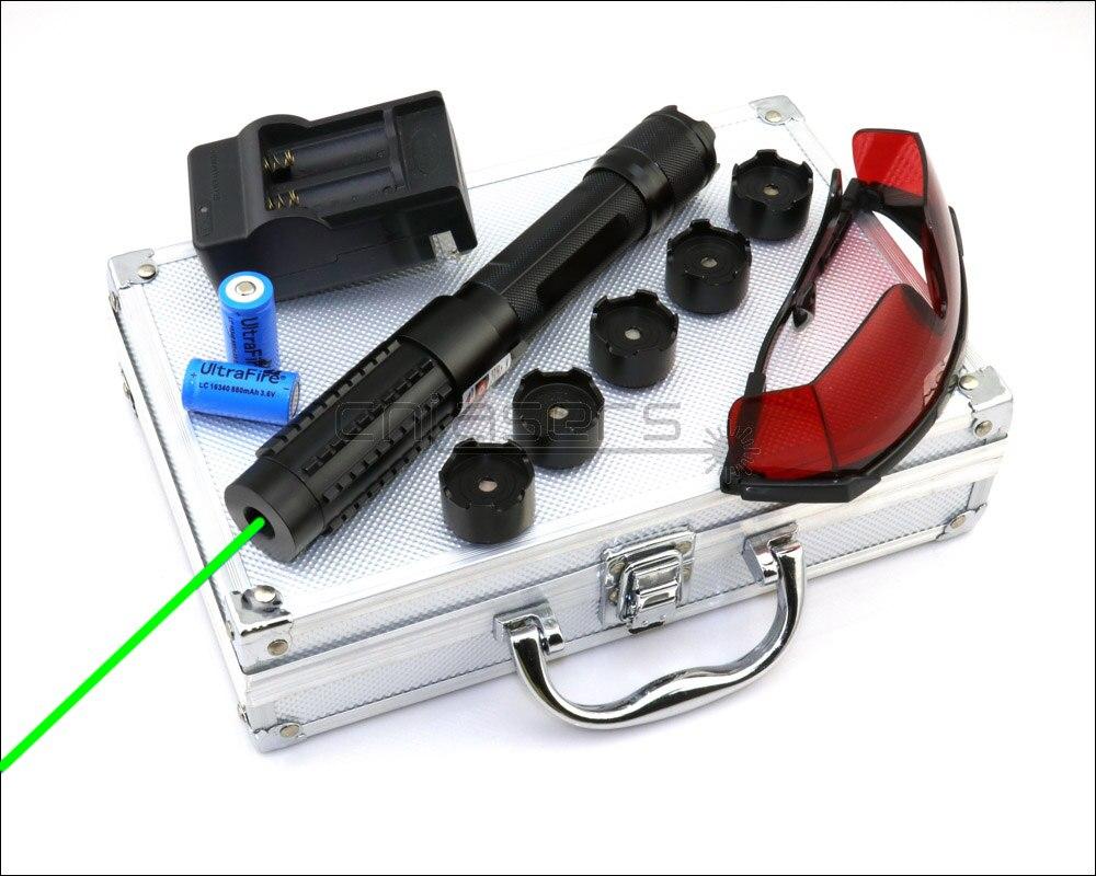 cnislasers x6bg0200 foco ajustavel 520nm ponteiro laser verde caneta laser visivel de alta potencia lazer tocha