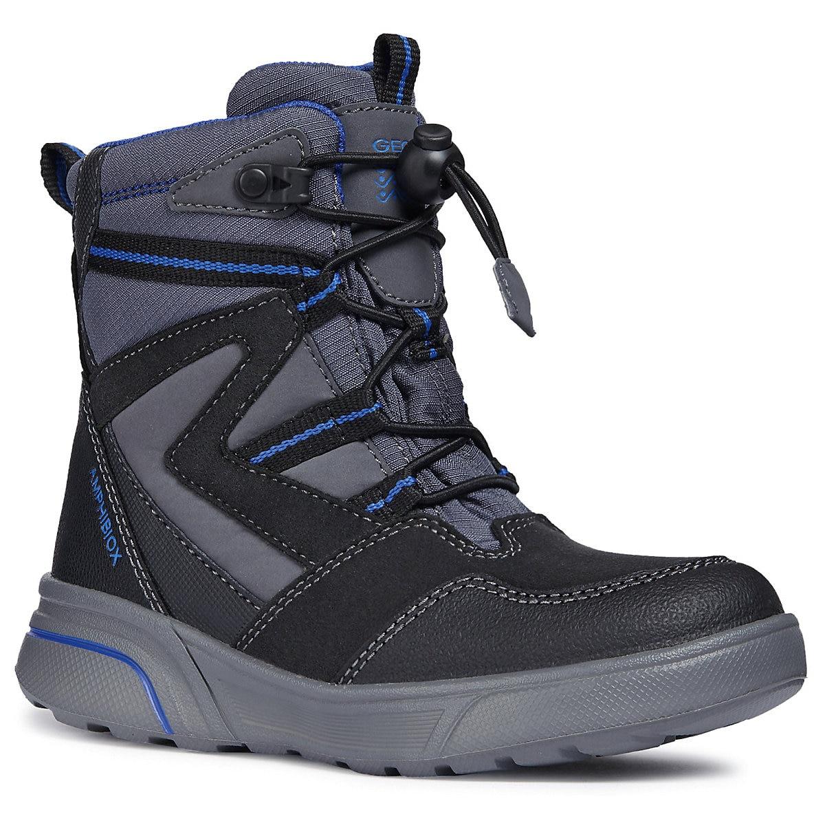 GEOX Boots 8786521 children shoes For boy Winter Boys faux fur MTpromo