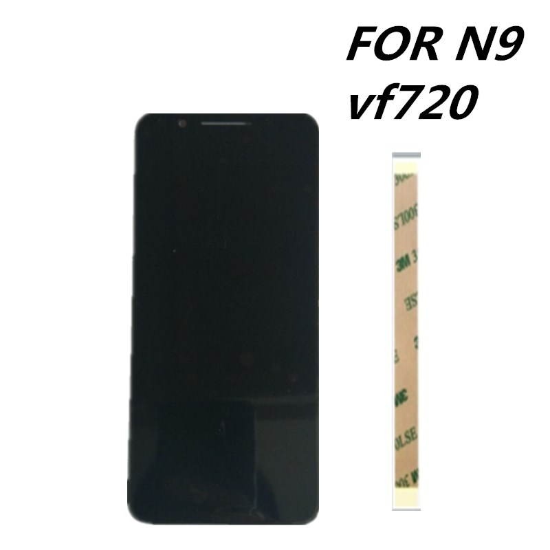 new 5 5inch For Vodafone VFD720 Smart N9 frame LCD Assembly Display Touch Screen Panel Replacement
