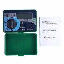DUOYI DY294 cyfrowy wielofunkcyjny Tester półprzewodnikowy tranzystor 1000V odwrotna pojemność napięcie SCR FET pomiar kondensator