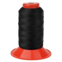 Черный цвет 500 метров скрепленный нейлоновый тент рюкзак швейная нить для кемпинга тент брезент тент рюкзак