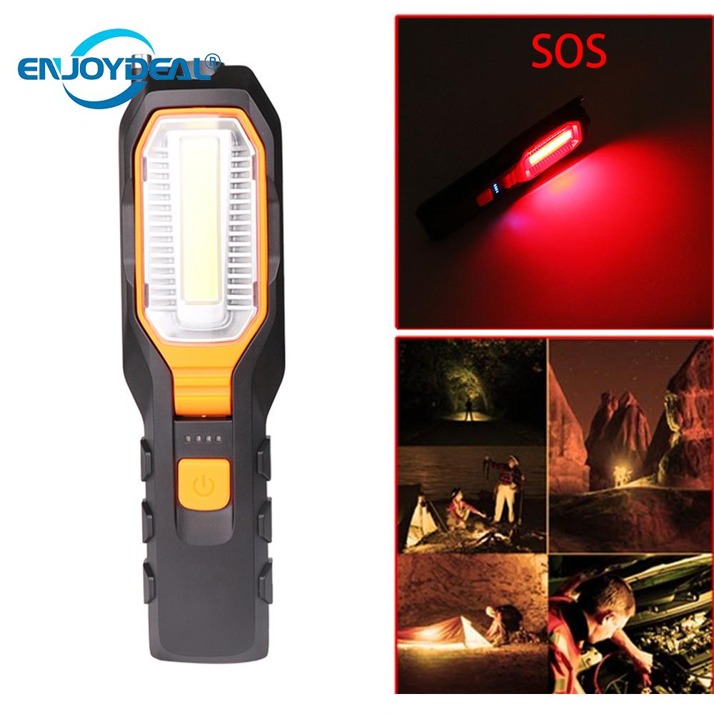 Cob Led Worklight Inspection Lamphand Tool Garage: Enjoydeal Portable COB LED Work Light Inspection Lamp