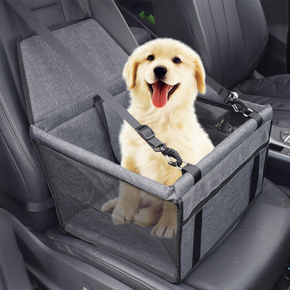 Small Dog//Cat Pet Safety Car Booster Seat Dog Carrier Hammock Safety Basket