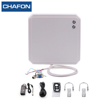 CHAFON 10m uhf long range rs485 rfid card reader writer provide free sdk and sample tags used for parking system
