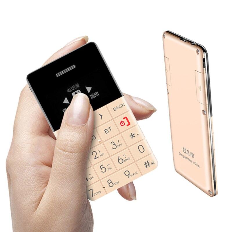 2015 Swedish,Arabic Vibration Bluetooth music MP3 OLED screen FM mini Ultrathin card cell mobile phone Q1 P88 mobile phone