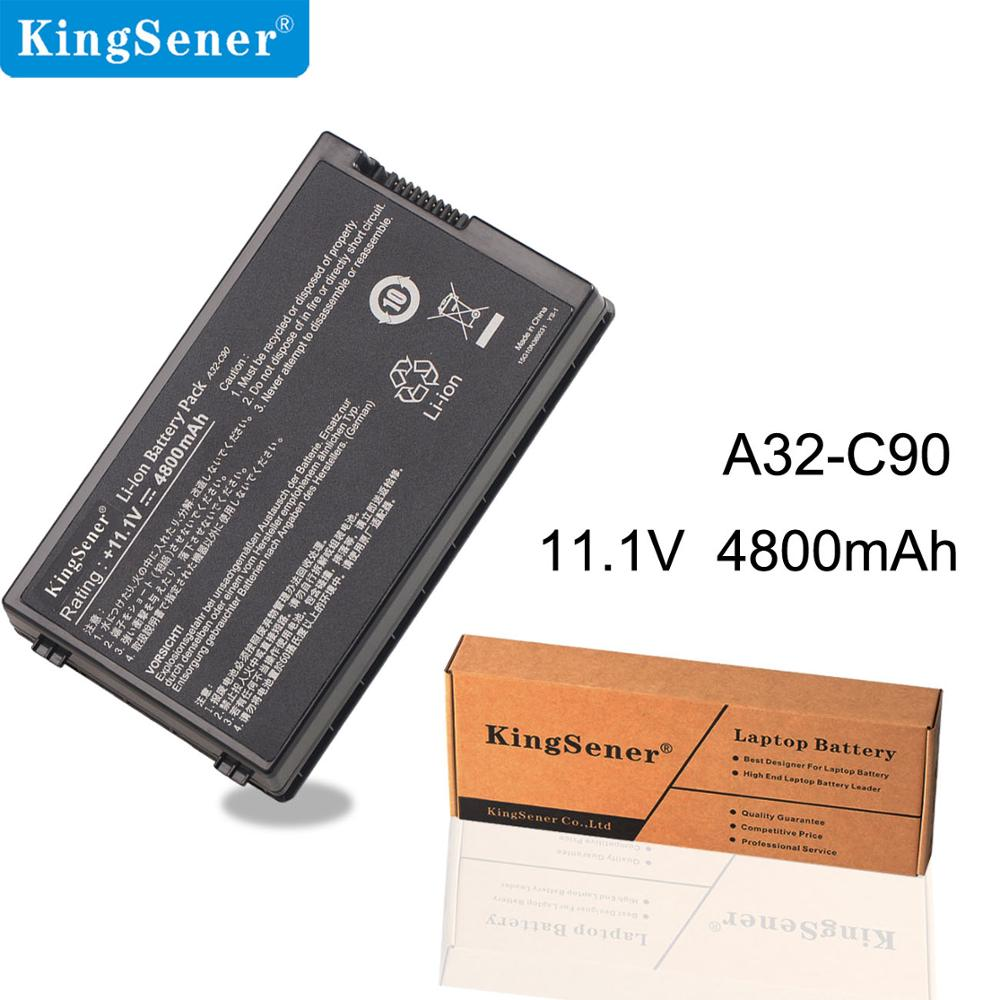 KingSener New Laptop Battery For ASUS A32-C90 C90S C90P C90A Series Free 2 Years Warranty