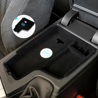 For BMW F30 F31 F32 F34 320d 2012 2017 Armrest Box Central Store Content Storage Box Inner Pad With Wireless Car Charger