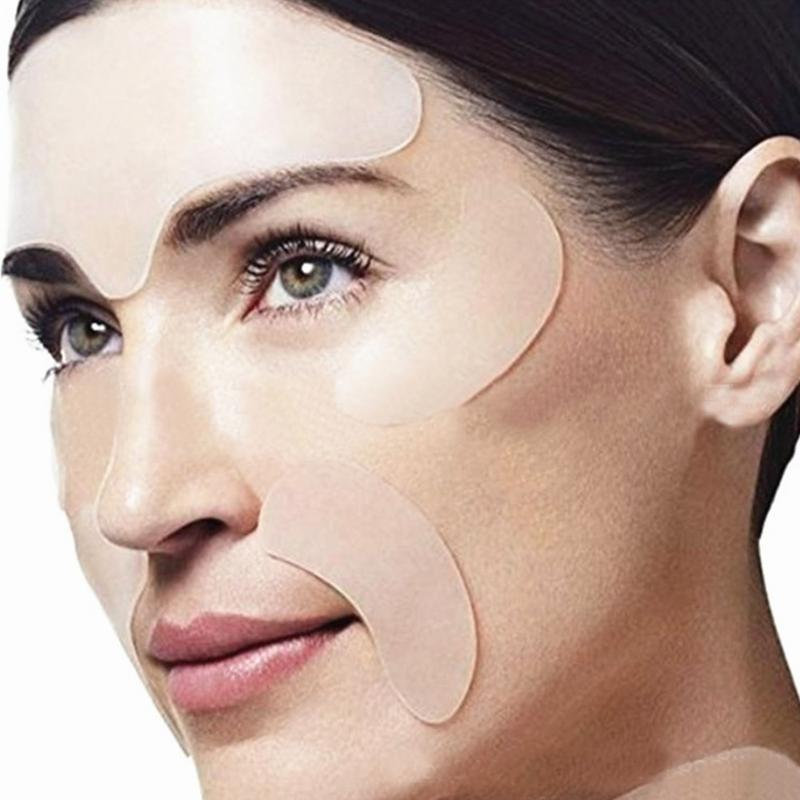 Forehead Stickers Patch Removal Frown-Lines Anti-Aging Face-Repairing Silicone 1/5pcs title=