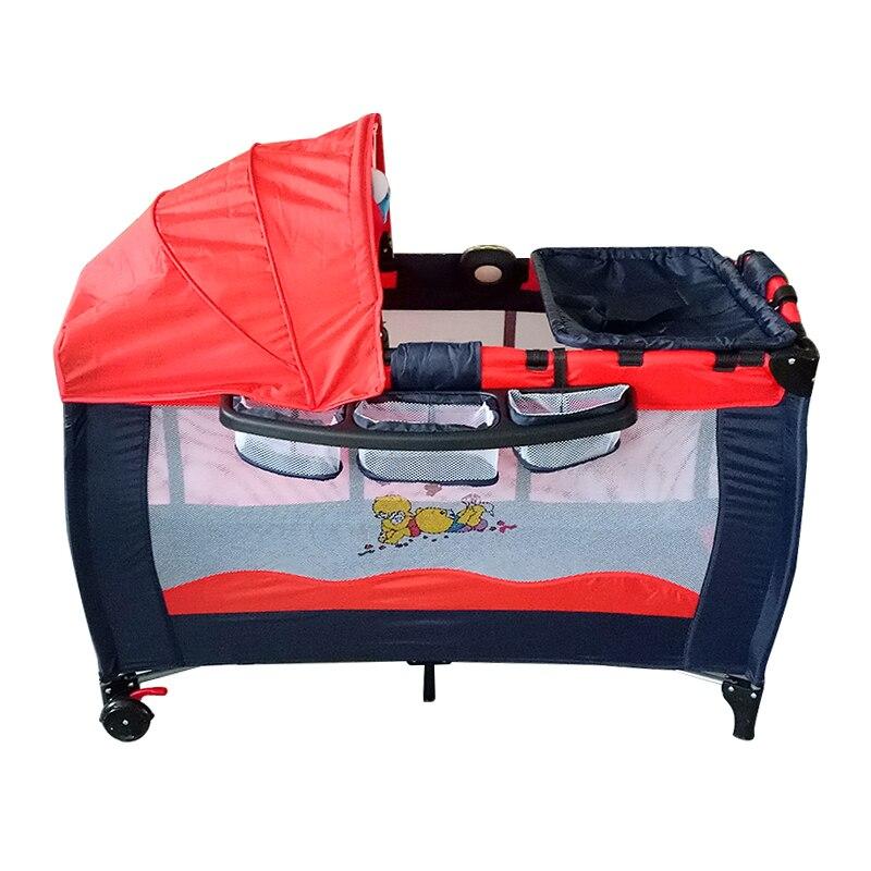 Pliable enfant en bas âge bébé berceau moustiquaire enfants infantile bébé sécurité moustiquaire filet lit berceau parc jouer tente de haute qualité HWC