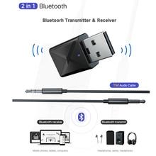Receiver Dongle Bluetooth-Transmitter Adaptador Headphone Music Kebidu Wireless Usb Aux