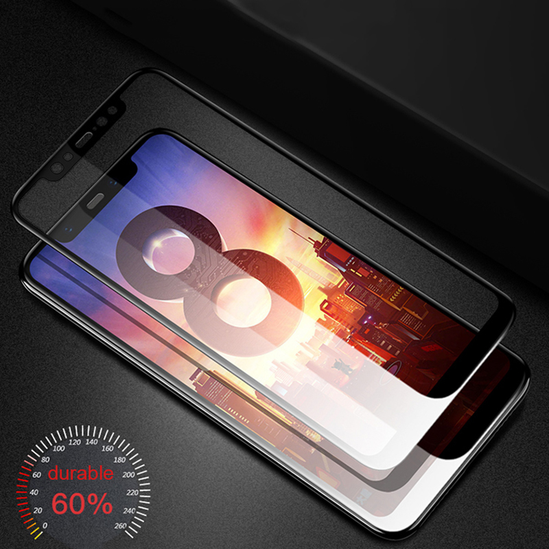 5D mi a1 For Xiaomi Mi 8 se A1 5X <font><b>6</b></font> mia1 mi6 mi8 <font><b>Case</b></font> Tempered Glass For Xiaomi xiomi <font><b>Redmi</b></font> <font><b>Note</b></font> 4x 5 Plus Cover Protective Film image