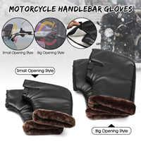 Motorcycle Handlebar Gloves Waterproof Thicken Hand Grips Muffs Windproof Hand Warmer Winter Warmers