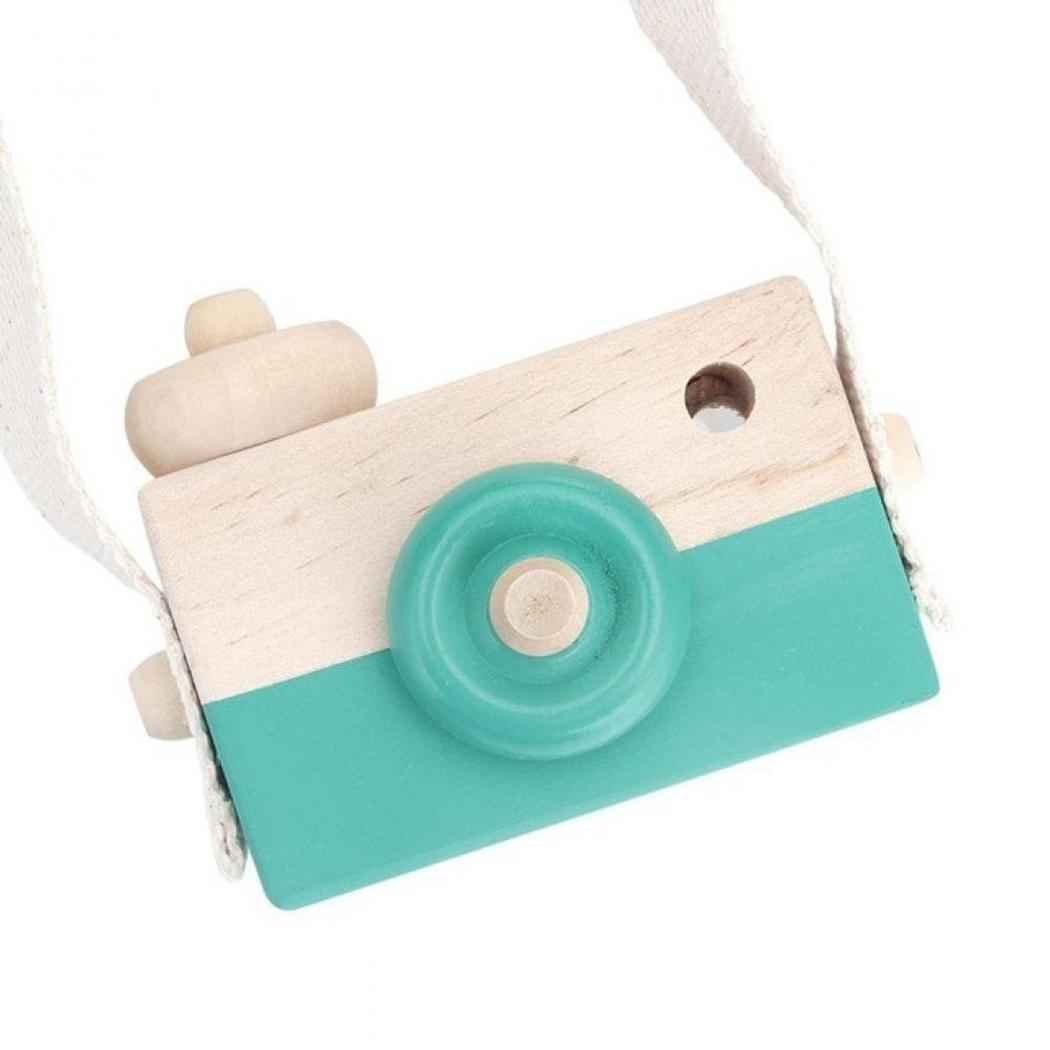 Room Decor Hanging toys Cute children Camera toys educational kids Birthday for Gifts Wooden toys Mini Kids Toy