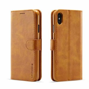 Luxury Leather Flip Case For coque iphone 12 11 pro x xs max xr 5s se 2020 6 6s 7 8 plus Wallet Phone Cover accessories shell(China)
