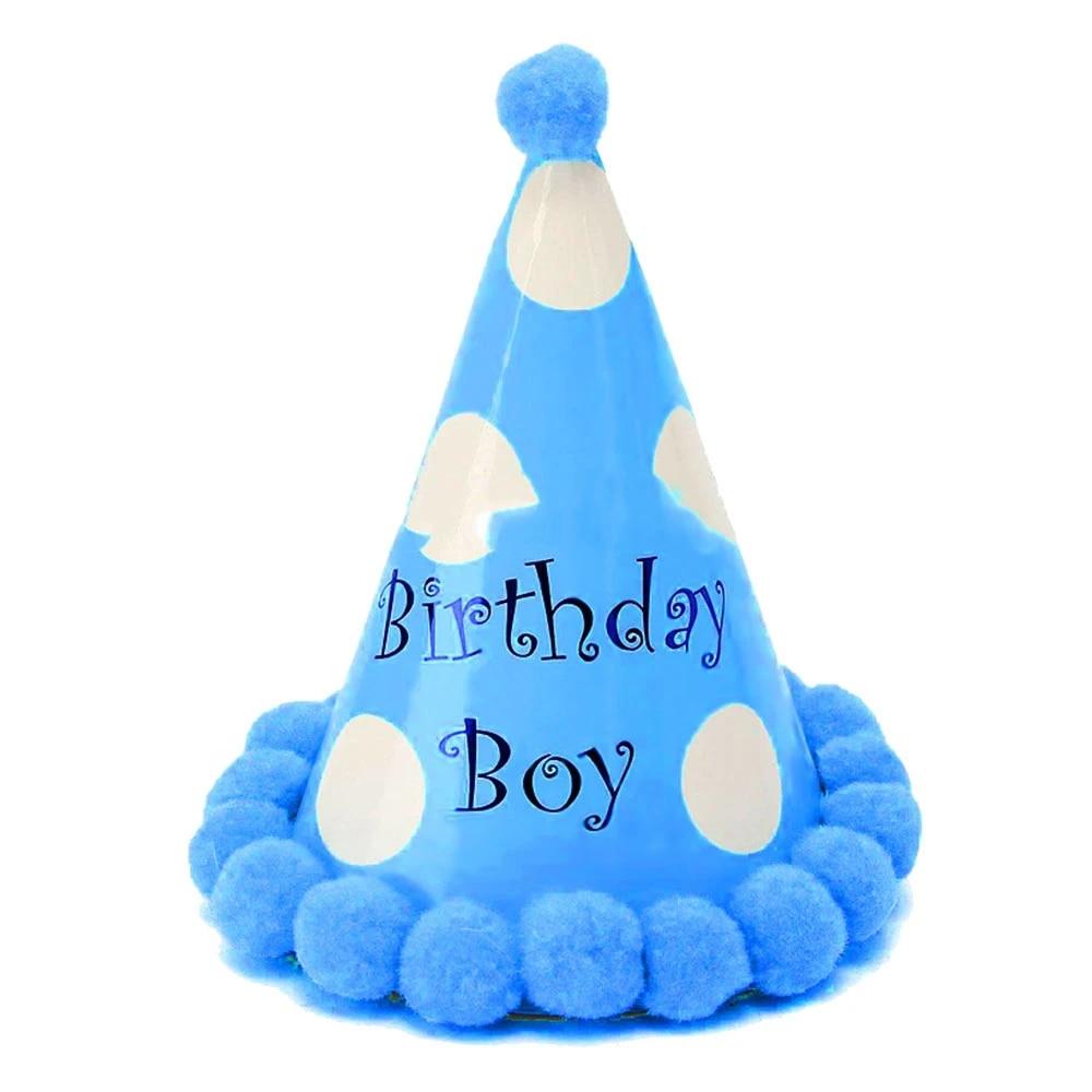 1pc Kids Party Birthday Hat First Birthday Boy Party Birthday Party Decorations Kids Girl New Year S Hats Birthday Accessories Party Hats Aliexpress