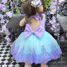 Girl Dress Kids Dresses For Girls Lace Kid Baby Girl Princess Pageant Bridesmaid Formal Gown Prom Tutu Dress Baby Girl Clothes